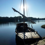 have fun on a typical Loire boat