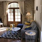 Grand séjour lumineux - Gîte de charme Douceur Angevine Gennes-Val de Loire