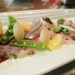 春野菜とサヨリ