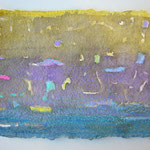 'No title' a-1 / aquarel, pastel and pigment on Indian handmade paper, 15x21cm / 2014 / Private collection in the Nedtherlands