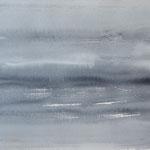 """""""Strand"""" #16, aquarel op papier / 24x32cm"""