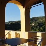 Ferienhaus Dolcedo: de Sonnaz I, Dachterrasse 2015