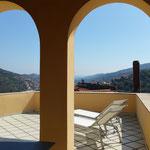 Ferienhaus Dolcedo: de Sonnaz I, Dachterrasse 2016 neu gestrichen