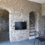 Ferienhaus Dolcedo: de Sonnaz I, Wohnzimmer