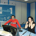 Maria Caracallas con Igor Righetti