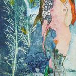 """""""Adam et Eve"""" d'après Klimt (1)"""