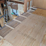 新規で床組み