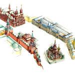 Mosca - la piazza rossa