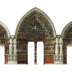 Amiens - portali della cattedrale