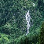 Wasserfall am Bodensee, 80x180 cm