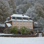 Les Amorièrs sous la neige