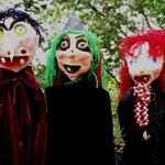 """""""Die kleine Hexe"""" - drei alte Hexen"""