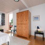 Schlafzimmer, kleine Ferienwohnung