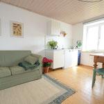 Wohnküche, kleine Ferienwohnung