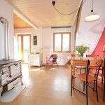 Wohnküche, große Ferienwohnung