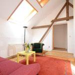 Wohnzimmer, große Ferienwohnung