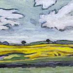 Himmel und Felder, 40 x 30 cm