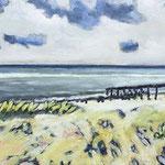 Oehe Strand, 40 x 30 cm