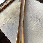 竹くつべら(鹿児島県) 350×750mm 約140g ¥2,400+税 素材は孟宗竹を使用しています。腰やひざを曲げずに立ったまま使用できるので、玄関の出入りが楽になります。