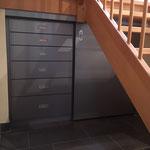 Schrank unter der Treppe