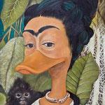 Selbstportrait Kahla Kerbel