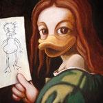 Kind mit der Zeichnung