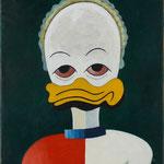 Portrait einer modernen Ente