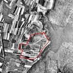 Luftbild aus 1945