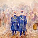 Gendarmes On Sunday