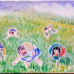 Gathering Wild Sour Grass (Schav)