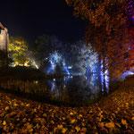Park Zamkowy w jesiennej iluminacji (2016)