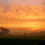 Wschód słońca w Piaskowie