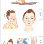 7・8月号「目の疲れ」挿絵