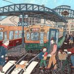 横川駅電停