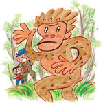 ヒバゴン(類人猿型未確認生物)
