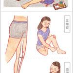 11月号「膝の痛み」挿絵