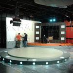 Оформление телестудии