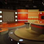Декоративное оформление телестудии