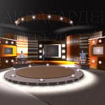 Проект оформления телестудии - освещение