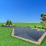 Визуализация проекта водоема