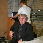 Hallensprecher Udo Scholz