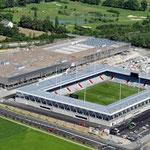 Neubau Stadion- und Einkaufszentrum Thun Süd