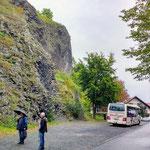 Basalt-Wand am Vulkan