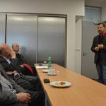 Vorstellung der Institution durch Entwicklungsmanager Jan Černý