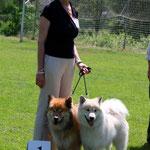 1. Platz Paarklasse: Gwendolyn von Ragnvald mit ihrem Gefährten Kimbo von der Ruine Blumenstein