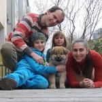 Haldir lebt nun bei dieser fröhlichen Familie in Niederösterreich