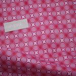 besch. Baumwolle (Polyrethan)- LOUNGE von Tante Ema pink / rosa ... eher ein rot-pink auf rosa Grund :)  RESTMENGE ?!