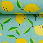 besch. Baumwolle: Luna Zitronen - hellmint AUSVERKAUFT