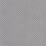 Coated Fabric - Dots grey - Au Maison - AUSVERKAUFT