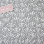coated Fabric - Alli - grey - Au Maison - Meterware / RESTMENGE